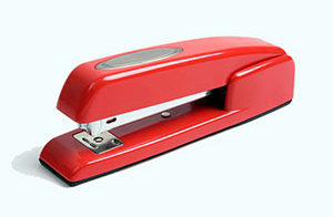 Red Stapler